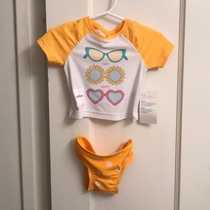 NWT Old Navy baby girl swimsuit